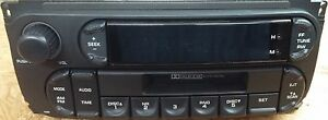 Chrysler Dodge Jeep Rbb Cassette Cdc Radio Factory Original Oem Stereo New
