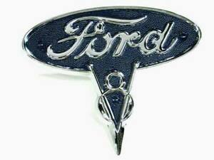 New 1935 1936 Ford Pickup Truck Hood Side V8 Emblem 50 16606