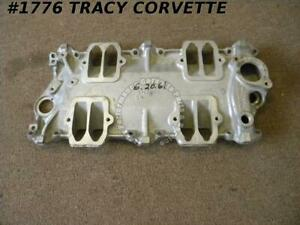 1959 1962 Corvette Good Used 3768233 Fi Fuel Injection Intake Manifold Baseplate