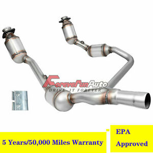 For 07 09 Tahoe Yukon Suburban 4 8l 5 3l 6 0l Catalytic Converter Exhaust Y pipe