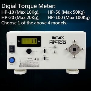 Digital Torque Meter Screw Driver Torque Wrench Spring Load Tester 10 To 100kg