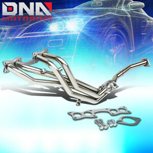 For 90 97 Hardbody D21 Pickup Stainless Performance Header Exhaust Manifold