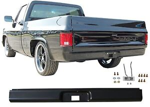 Rear Bumper Steel Roll Pan For 1973 1987 Chevrolet C 10 C10 New Free Shipping