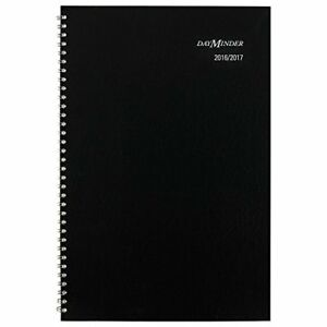 At a glance Ay200 Academic Monthly Planner 7 7 8 X 11 7 8 Black 2016 2017 Perfec