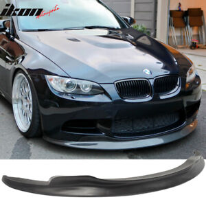 Fits 08 13 Bmw M3 Only Coupe Sedan Convertible C Style Front Bumper Lip Spoiler