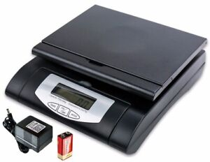 Heavy Duty 75lbs Black Digital Shipping Postal Scale With Ac battery