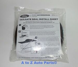 New 2015 2019 Ford F 150 Tailgate Rubber Dust Seal Weatherstrip Oem
