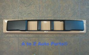 New 2015 2017 Ford F150 Front Bumper License Plate Bracket Mount Fascia Cover oe