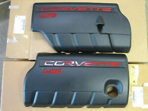 New C6 Corvette Ls2 Engine Fuel Rail Covers Ls1 Ls3