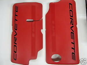 New C5 Corvette Z06 Ls6 Engine Fuel Rail Covers Ls1