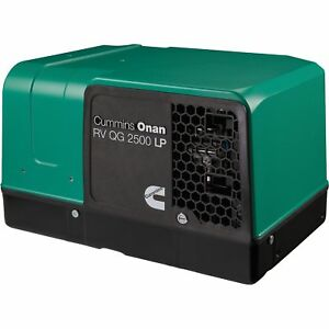 Cummins Onan Quiet Series Gasoline Rv Generator2 5 Kw 2 5hgjbb 1121