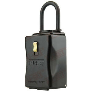 Bluetooth Lockbox Electronic Key Storage Lock Box Remote Access Via Mobile App
