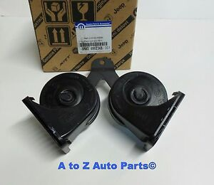 New 2009 2012 Dodge Ram 1500 2010 2012 Ram 2500 Dual Horn Bracket Assembly oem
