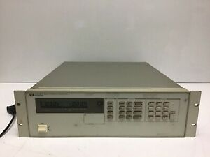 Hp Agilent 6623a Triple output Dc Power Supply 7v 5a 20v 2a 7v 10a Load Tested