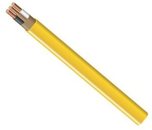 Southwire 28828228 Non metallic Building Wire 12 2 nmwg 100 Yellow