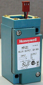 Honeywell Micro Switch Photoelectric Relay Output 10 30 Vdc 6amp Mpv31