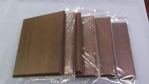 Lot Of 6 Trophy Parts 8x10 High Quality Solid Wood Plaque Boards