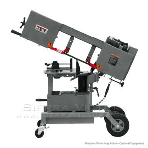 Jet Portable Dual Mitering Bandsaw Hvbs 8 dmw 424460