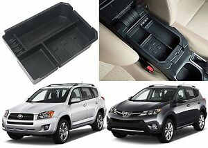 Center Console Secondary Storage Tray For 2012 2015 Toyota Rav 4 New Free Ship