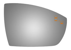 Burco 5583bc Passenger Side Mirror Glass W Blind Spot For 13 17 Ford Escape