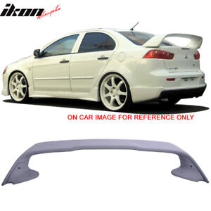 Fits 08 17 Mitsubishi Lancer Evolution 10 X Original Evo Style Trunk Spoiler