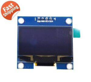 1 3 Sh1106 I2c Iic 128x64 Oled Lcd Led Display Module Board For Arduino Blue