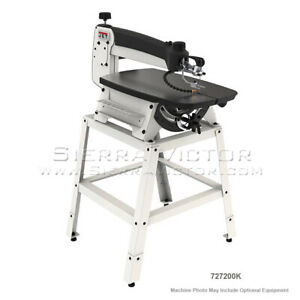 Jet Scroll Saw With Stand And Foot Switch Jwss 22 727200k