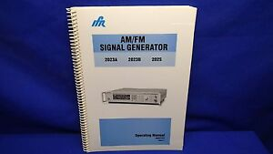 Ifr 2023a 2023b 2025 Am fm Signal Generator Operating Manual 46882 373 Issue 7