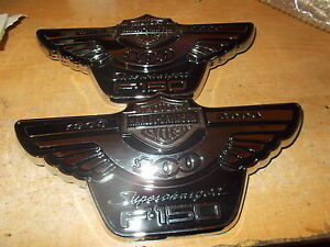 2003 Harley davidson Ford F150 F 150 Supercharged Fender Emblems New Ford Pair 2