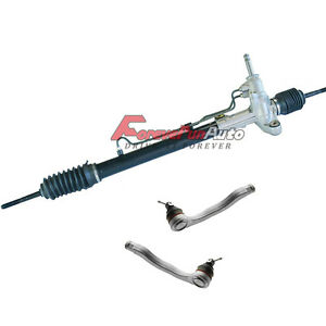 Complete Rack And Pinion Assembly 2 New Outer Tie Rods For 96 00 Honda Civic