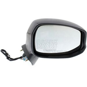12 13 Honda Civic Passenger Side Mirror Replacement Heated Textured