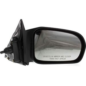 01 05 Honda Civic Passenger Side Mirror Replacement Manual Remote Coupe