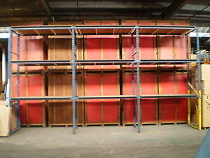 Industrial Storage Warehouse Pallet Racking System 13 Tall 43 Wide 92 Across