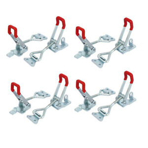 Zinc Plated Triangle Lever Latch Type Adjustable Toggle Clamps Gh 4003 8pcs