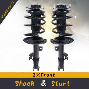For 2007 2011 Toyota Camry Complete Front Strut Coil Spring Assembly L r Pair