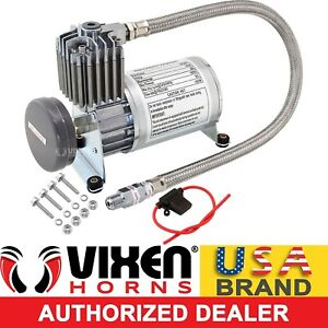 Onboard Universal Air Compressor 150psi 4 Car Truck Train Horn Suspension Kit