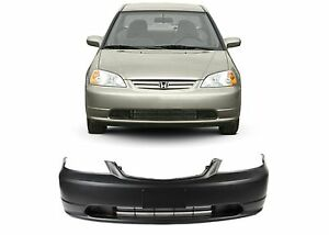 Replacement Front Bumper Cover For 2001 2003 Honda Civic New Free Shipping Usa