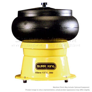 Burr King Vibratory Bowl Model 200