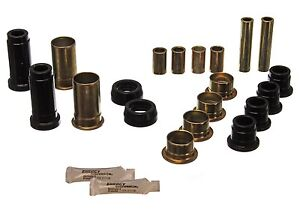 Energy Suspension 4 3130g Control Arm Bushing Kit Set 74 80 Mustang Ii Pinto
