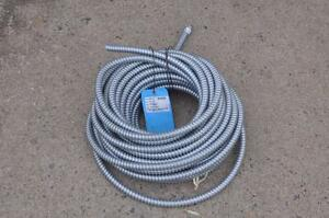 Blue Ribbon 69311 Metal Flexible 1 2 Conduit 100 Feet New
