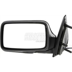 93 99 Volkswagen Golf Or Jetta Driver Side Mirror Replacement Manual Remote