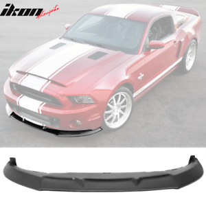 Fits 10 14 Mustang Shelby Gt500 Gt Oe Style Super Snake Front Bumper Lip Spoiler