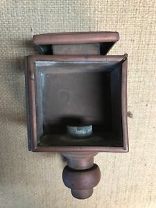 Vintage Boat Lamp Maritime Nautical Brass And Copper Free Us Shipping