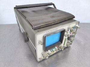 S135983 Hp Agilent 1740a 100mhz 2 channel Analog Oscilloscope Opt 102