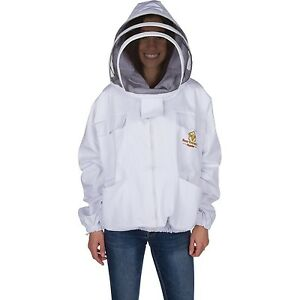 Professional Beekeeping Jacket Self supporting Fencing Veil For Bee Keepers