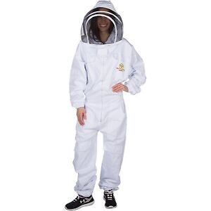 Professional Beekeeping Suit Self supporting Fencing Veil For Bee Keepers