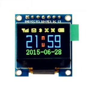 0 96 0 95 Inch Spi Full Color Oled Display Module Ssd1331 96x64 Lcd For Arduino