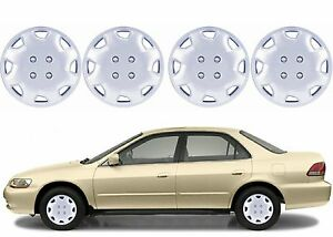 4 Replacement 15 Wheel Hub Caps For 1998 2002 Honda Accord New Free Shipping