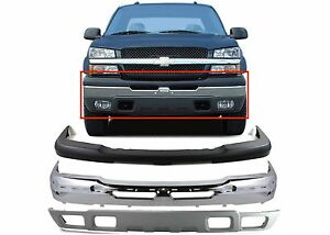 Replacement Front Bumper Combo For 2003 2006 Chevrolet Silverado 1500 New Usa