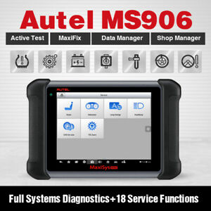 Autel Maxisys Ms906 Diagnostic Scanner Scan Tool Better Than Maxidas Ds708